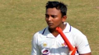 Ranji Trophy 2017-18, Round 6, Group C: Prithvi Shaw's century puts Mumbai in control, Kedar Devdhar scores ton against Odisha on Day 1