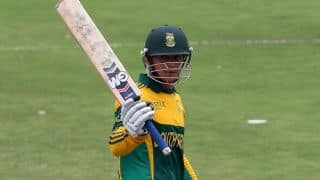 Faf du Plessis, Quinton de Kock's blitzkrieg helps South Africa post 80 against Australia in 7 overs a side match