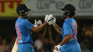 India hammer Australia by 9 wickets (DLS) in 1st T20I