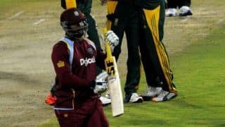 West Indies 176/5 in 29th over against South Africa