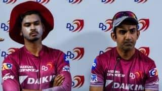 IPL 2018: Gautam Gambhir decided to sit out himself, clarifies Shreyas Iyer