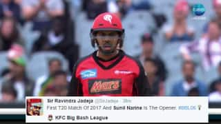 Sunil Narine opens batting for first time in career; Twitter terms it 'New Year Surprise'