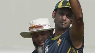 Shahryar Khan: Mohammad Hafeez has requested to be tested in Cardiff
