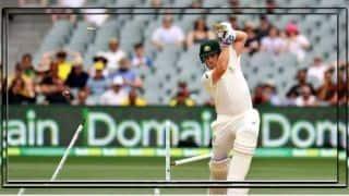 VIDEO: इशांत शर्मा की खतरनाक गेंद ने उड़ा दिए एरोन फिंच के दो स्टंप्स