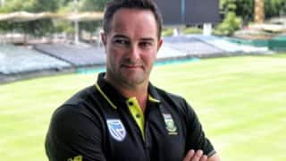 Mark Boucher apologies for racist comment during his playing days