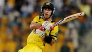 Finch, Warner key for Australia, says Maxwell