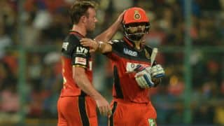 VIDEO: Virat Kohli says he cannot reverse sweep to pacers like AB de Villiers