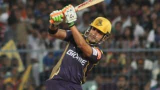 Kolkata Knight Riders off to a steady start against Delhi Daredevils in IPL 2015