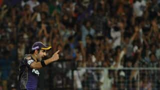 Gautam Gambhir: Boys should stay focussed instead of thinking about end result of CLT20 2014
