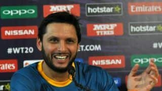 Some Sri Lankan players did not come to Pakistan because of India, says Shahid Afridi