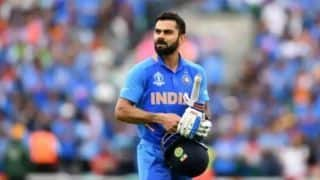 IND vs AFG: Virat Kohli, Kedar Jadhav guide India to 224/8 against Afghanistan