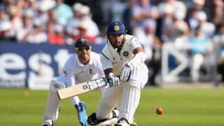 India reach 57/1 against England at tea on Day 4 of 1st Test