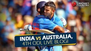 IND 323 in 49.2 overs | Live Cricket Score, India vs Australia 2015-16, 4th ODI at Canberra: Australia stage astonishing turnaround