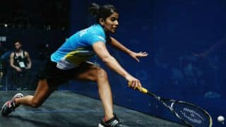 Joshna Chinappa back at 13th spot in World Squash Rankings
