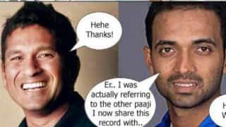 India vs England 2nd Test at Lord's: Sachin Tendulkar trolled by Ajinkya Rahane