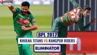 Highlights, BPL 2017-18, Khulna Titans vs Rangpur Riders, Eliminator: RR win by 8 wickets