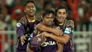 Kolkata Knight Riders vs Mumbai Indians Live Scorecard IPL 2014: Match 39 of IPL 7 at Hyderabad