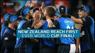 New Zealand beat South Africa in nerve-wracking 4-wicket win to enter ICC Cricket World Cup 2015 Final