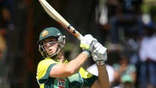 Mitchell Marsh clean bowled by Wayne Parnell; Australia 132/6
