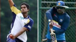 आईसीसी ने श्रीलंका के दो  खिलाड़ियों को किया सस्पेंड