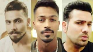 Watch: Rohit Sharma, Hardik Pandya join Ravindra Jadeja in #BreaktheBeard trend
