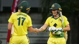 Red-hot Healy secures T20I series for Australia women