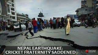 Nepal Earthquake: Cricketers fraternity expresses sorrow over calamity