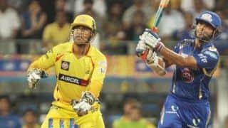 भारतीय टी20 लीग, पहला मैच: ड्वेन ब्रावो की अर्धशतकीय पारी की मदद से चेन्नई ने मुंबई एक विकेट से हराया
