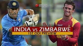 India vs Zimbabwe 2016, 1st ODI at Harare, Predictions and Preview: Struggling Zimbabwe face MS Dhoni's swaggering young guns