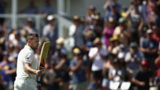 अपने अंतिम टेस्ट में ब्रैंडन मैकुलम ने जड़ा टेस्ट क्रिकेट का सबसे तेज शतक( वीडियो)