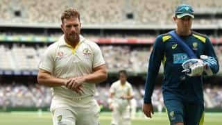 Aaron Finch shakes off finger injury in time for Boxing Day Test