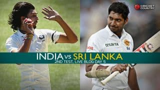 SL 134 | Live Cricket Score, India vs Sri Lanka 2015, 2nd Test at Colombo, Day 5: IND win by 278 runs