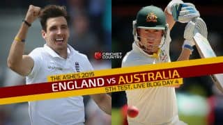ENG 2nd Inns: 286 | Live Cricket Score England vs Australia, The Ashes 2015, 5th Test, Day 4: AUS win by inns and 46 runs