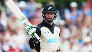 New Zealand vs Sri Lanka 2015-16, 1st T20I at Mount Maunganui