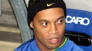 Ronaldinho leaves for Brazil, set to miss Premier Futsal Goa leg