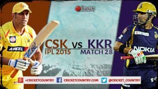 Chennai Super Kings vs Kolkata Knight Riders, IPL 2015 Match 28 Preview: Defending champions face most consistent team in IPL