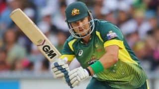 Shane Watson to lead Australia in 3rd T20I vs India at Sydney