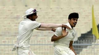 Rajneesh Gurbani takes hat-trick, 6 wickets in Ranji Trophy 2017-18 final