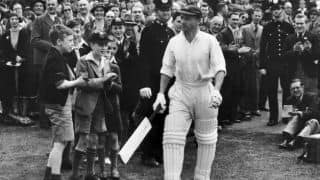 Don Bradman's last First-Class game ends tragically