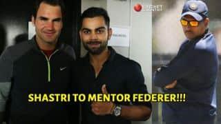 Ravi Shastri to mentor Roger Federer, joins Virat Kohli in UAE Royals team
