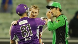 Big Bash League 1st semi-final: Melbourne Stars vs Hobart Hurricanes at Melbourne