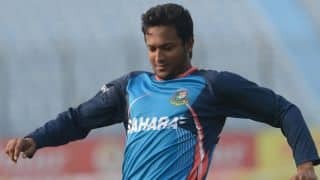 Shakib Al Hasan punished for making lewd gesture on live television