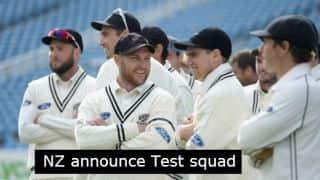 New Zealand tour of Australia 2015: New Zealand announce Test squad