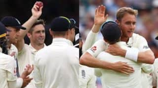Chris Woakes, Stuart Broad star as England bowl out Ireland for 38 to win Lord's Test by 143 runs