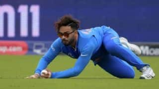 Rishabh Pant needs to be a little more athletic to be an outfielder: R Sridhar