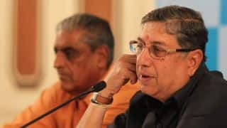 N Srinivasan the Villain: South African media