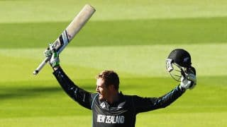 Martin Guptill becomes fifth batsman in ODI history to score double ton, during ICC Cricket World Cup 2015 match against West Indies