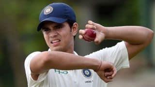 कूच बिहार ट्रॉफी: अर्जुन तेंदुलकर ने दिल्ली के खिलाफ पारी में लिए 5 विकेट