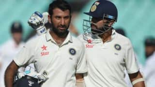 Ranji Trophy 2017-18, Round 5, Day 1: Murali Vijay, Cheteshwar Pujara strike hundreds; Ajinkya Rahane, KL Rahul fail