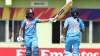 ICC Women's WT20: Harmanpreet record century powers India to 194/5
